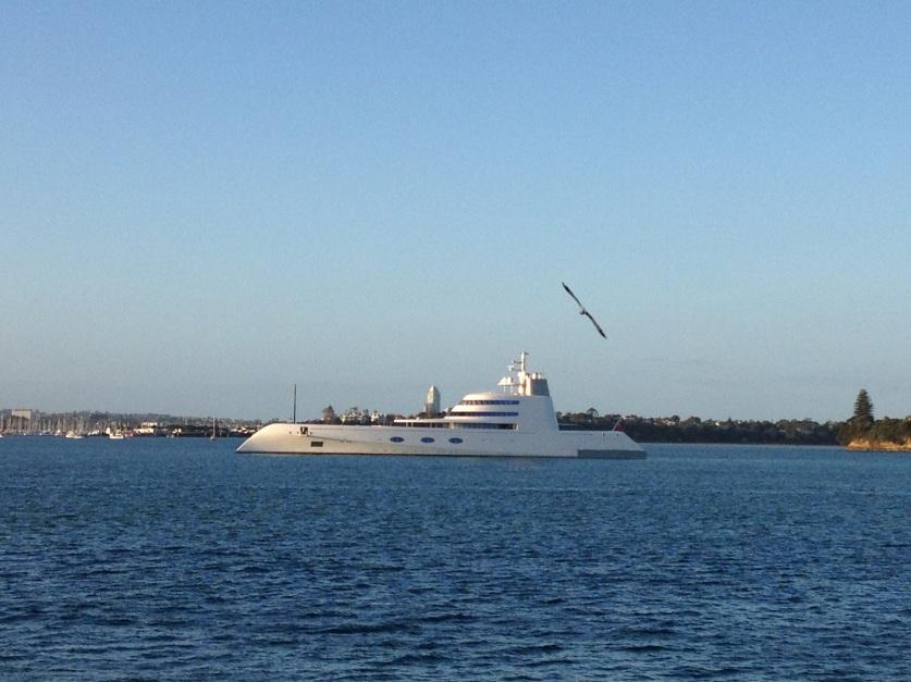 Russian billionaire's pleasure cruiser