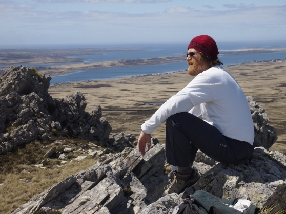 Mount William above Stanley, Falkland Islands